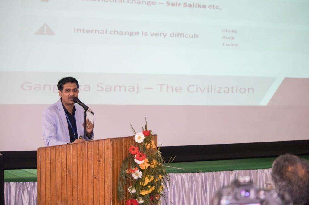 Speaking in National Conference - Namami Gange