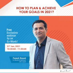 Paresh Rawal Webinar on Goals in 2021